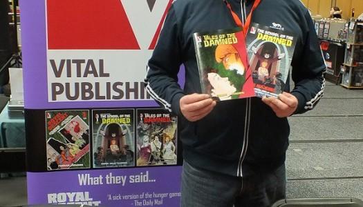 VITAL PUBLISHING RETURNS TO EDINBURGH COMIC CON IN 2017